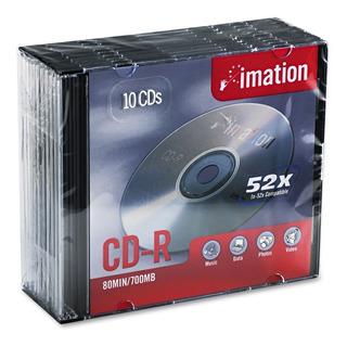 Imn17332 Cd Grabable, Cd-r, 52x, 700 Mb, Caja De Joya D...