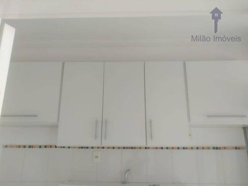 Apartamento Com 2 Dormitórios À Venda, 47 M² - Vida Plena - Parque Campolim - Sorocaba/sp - Ap1487
