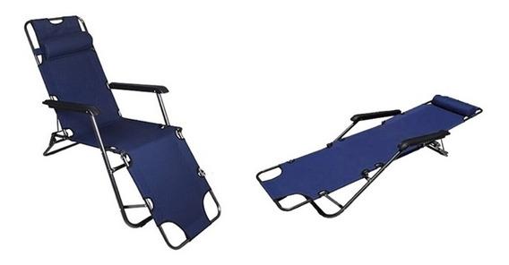 Cadeira Espreguiçadeira Praia Piscina Gravidade Zero Adulto Reclinavel Dobravel