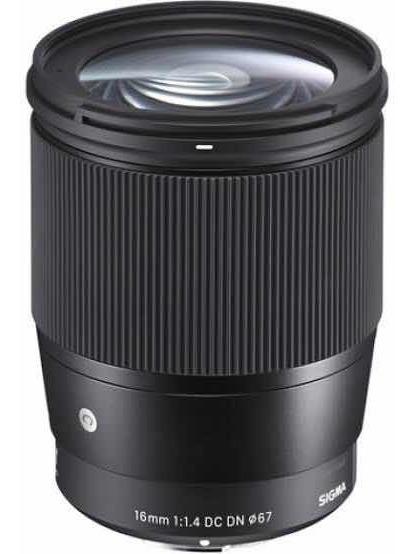 Lente Sigma 16mm F1.4 E-mount Para Sony
