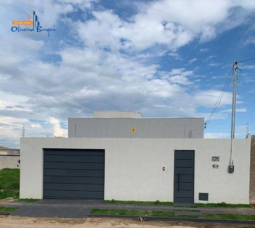 Imagem 1 de 27 de Casa Com 3 Dormitórios À Venda, 110 M² Por R$ 275.000,00 - Loteamento Residencial Verona - Anápolis/go - Ca1914