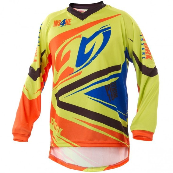 Remera Motocross Insane 4 Pro Tork Adulto Sportbay