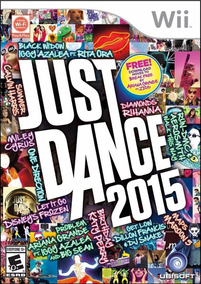 Just Dance 2015 Wii Lacrado Fabrica Raro Original