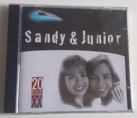 Sandy & Junior - Millennium Cd Lacrado