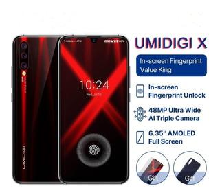 Smartphone Umidigi X 4gb/128gb Flame Black - Pronta Entrega