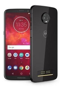 Smartphone Motorola Moto Z3 Play 64gb Xt1929 Anatel Indigo