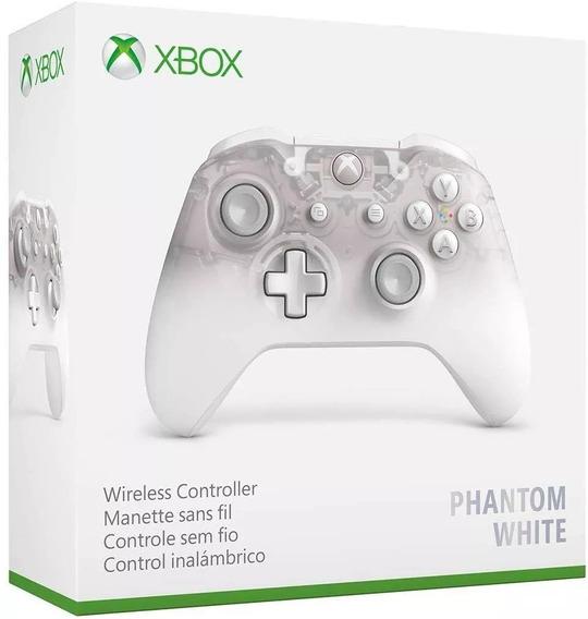 Controle Xbox One Phantom White Branco - Microsoft Original