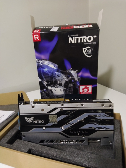 Placa De Video Rx 580 Nitro+