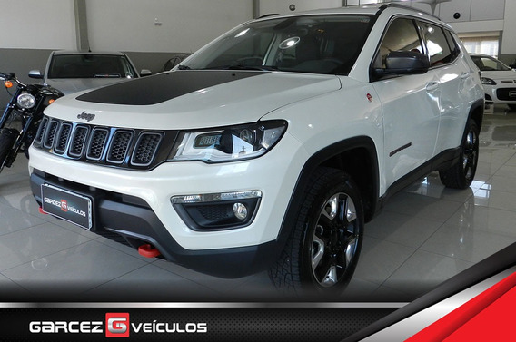 Jeep Compass Trailhawk Turbo Diesel 4x4 Impecável 26 Mkm Top