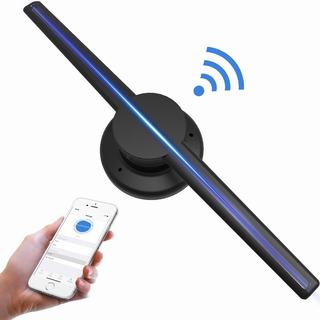 Hologram Led Fan 3d Ventilador Pantalla 16.5 Publicidad Wifi