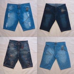 0a057d355abe9d Kit Com 5 Bermudas Jeans Surf Marcas Famosas Atacado Revenda