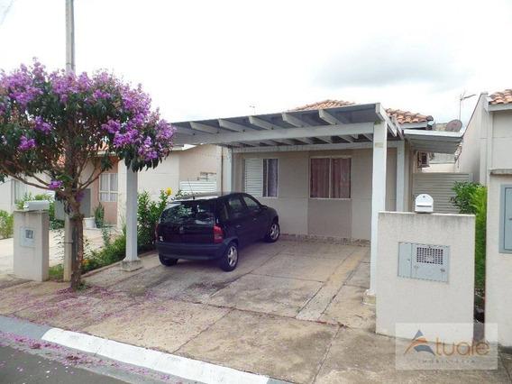 Casa Com 2 Dormitórios À Venda, 70 M² Por R$ 230.000,00, Vila Inema, Hortolândia/sp. - Ca6095