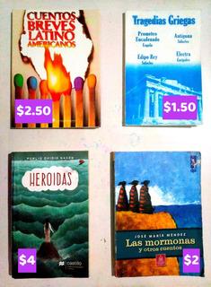 Libros Y Obras Escolares Usadas