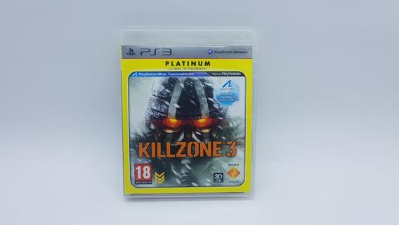 Killzone 3 Platinum - Ps3 - Midia Fisica Em Cd Original
