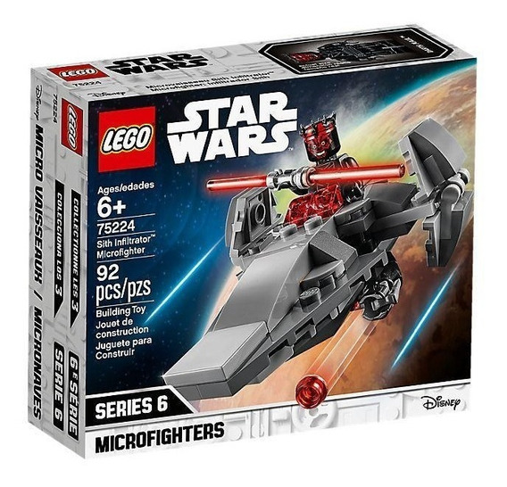 Lego Star Wars Microfighter: Infiltrador Sith 75224