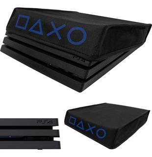 Capa Pra Ps4 Pro 4k Protetora Antipoeira Console Case