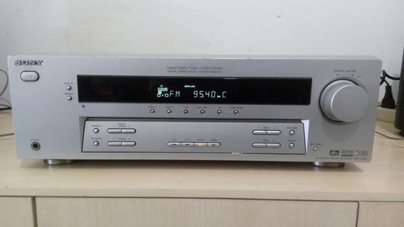 Receiver Sony Str K750 Funciona Ok! Sem Controle