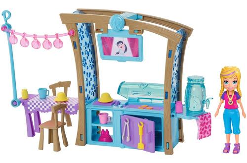 Polly Pocket Fiesta De Parrillada Muñeca Para Niñas