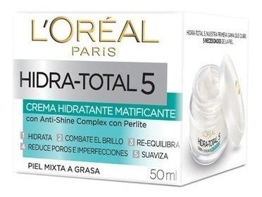 Loreal Paris Hidra Total 5 Hidratante Matificante