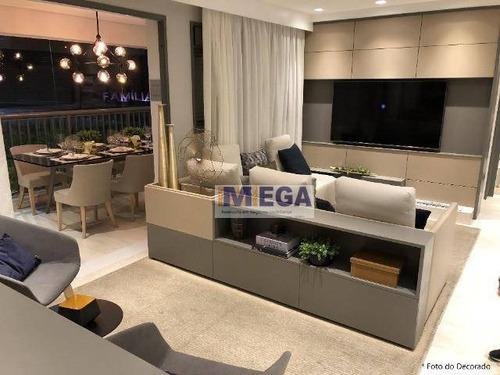 Apartamento Com 3 Dormitórios À Venda, 87 M² Por R$ 869.200,00 - Jardim Guanabara - Campinas/sp - Ap4915