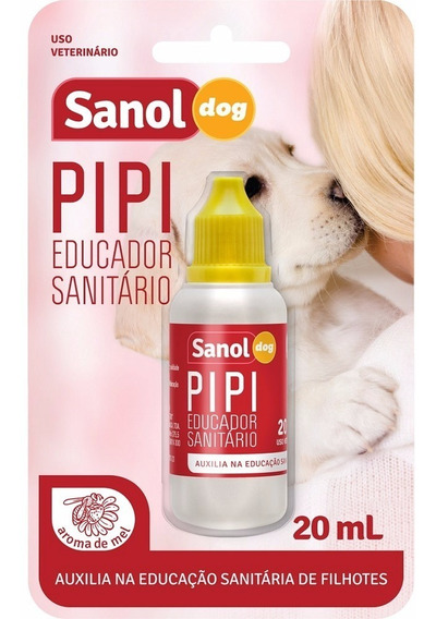 Educador Sanitário Sanol Dog Para Cães Filhotes
