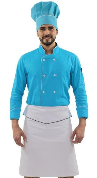 Doma Uniforme De Chef Avental De Cintura Touca Mestre Cuca