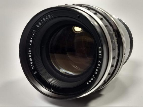 Lente Zeiss Biometar 120mm 2.8 Canon
