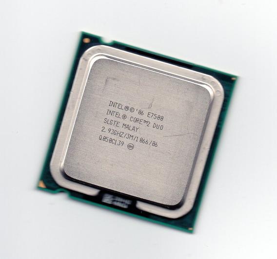 2x Processadores Intel Lga775 Core 2 Duo E7500 2.93ghz Frete
