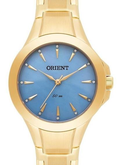 Relogio Orient Feminino Dourado - Fgss0084 A1kx