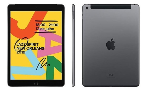 iPad Apple 7ª Geração 7th Wi-fi 32gb Ipados A10 Fusion