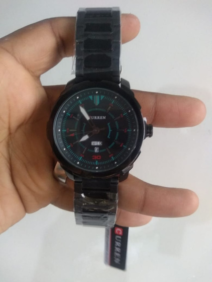Relógio Curren À Prova Dágua Modelo 8266 Tire Onda