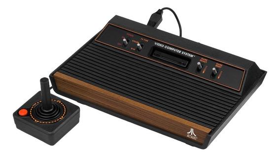 Console Atari 2600 Heavy Sixer 4kB preto/marrom-madeira