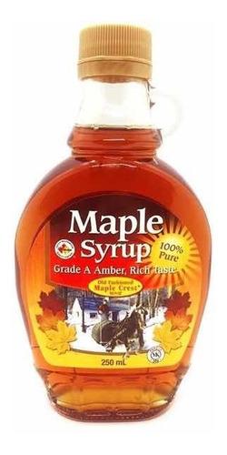 Jarabe De Arce Maple Syrup Origen Canada X 250 Ml