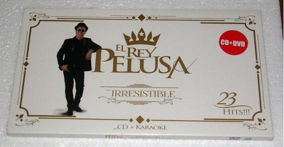 El Rey Pelusa Irresistible Cd + Dvd Karaoke Sellado / Kktus