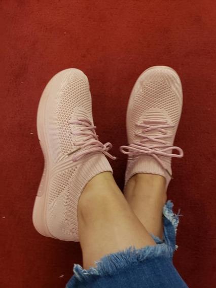 Zapatillas Elastizadas Importadas Con Cordones Modelo Nuevo