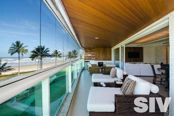 Apartamento Pé Na Areia, Com 4 Dormitórios - Módulo 8 - Riviera De São Lourenço - Ap0937