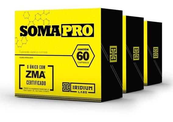 Soma Pro Zma Pré Hormonal - 60 Comps - Kit 3 Caixas