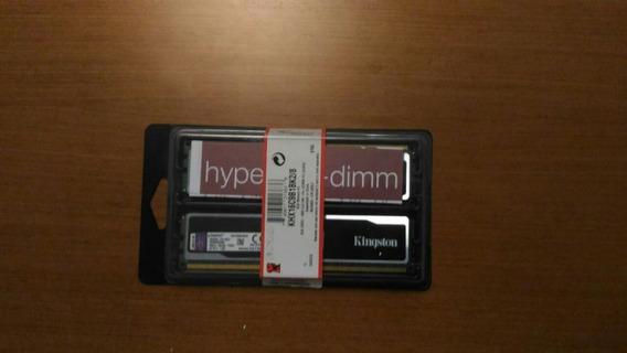 Kit Memória Ram Kingston Hyperx Ddr3 1600 8gb (2x4)
