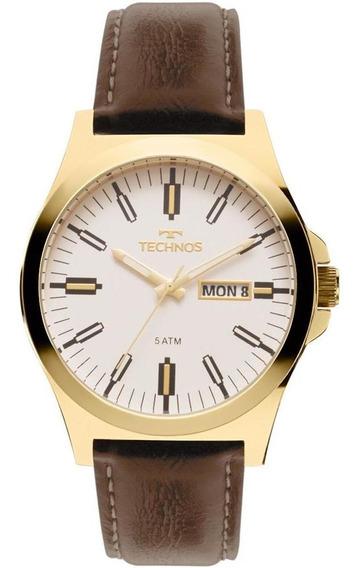 Relógio Technos Masculino Steel Dourado - 2305az/2b