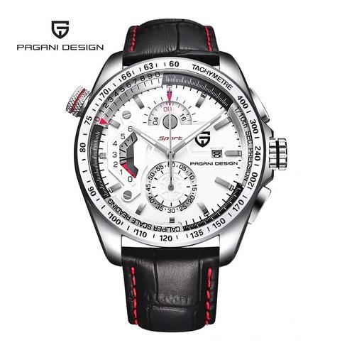 Relógio Masculino Pagani Design Chronograph Sport Original