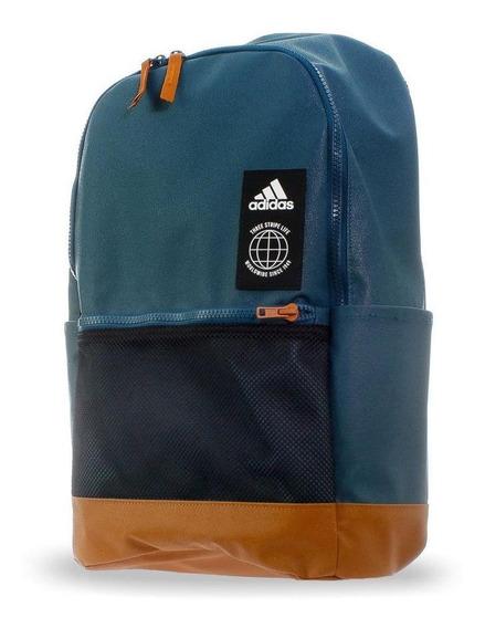 Mochila adidas Classic Urban - Dz8251 - Azul Petroleo - Unis