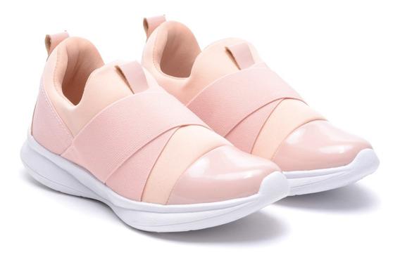 Zapatillas Mujer Deportivas Urbanas Running Lycra Elastizada