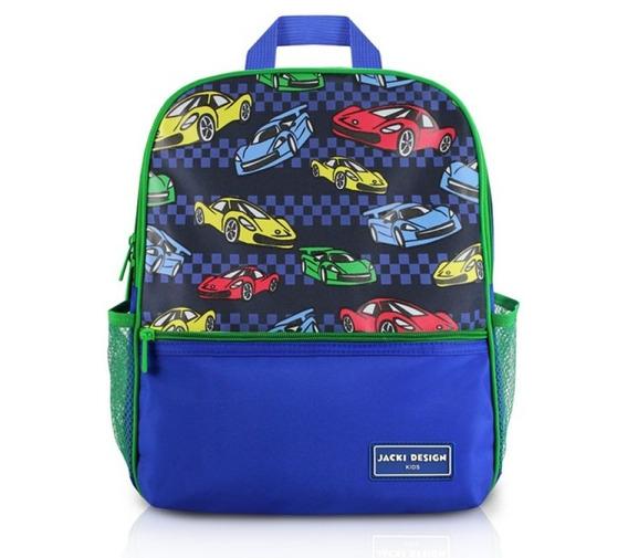 Mochila Escolar Infantil Carros Sapeka Jacki Design