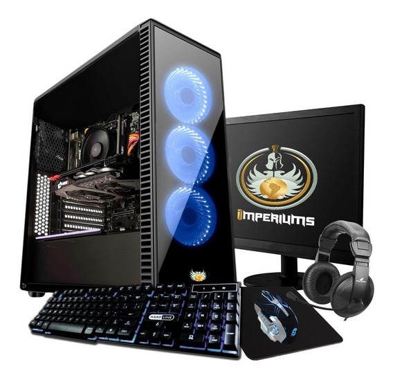 Pc Completo Gamer I5 2400, Geforce 2gb! + 30 Jogos!