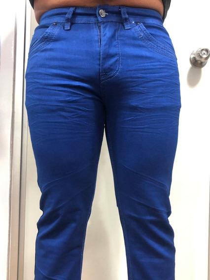 Pantalon Caballero Gabardina Casual Marca Moderno Mj201