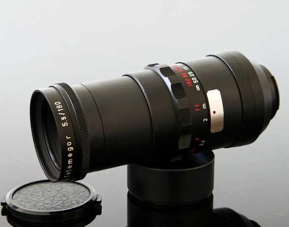 Lente 180mm F 5.5 Meyer Optik Görlitz Telemegor -leia Tudo!