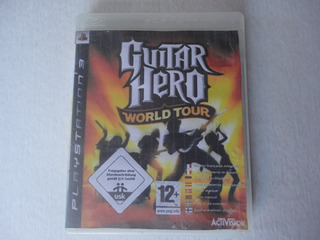 Guitar Hero World Tour Ps3 Disco Fisico