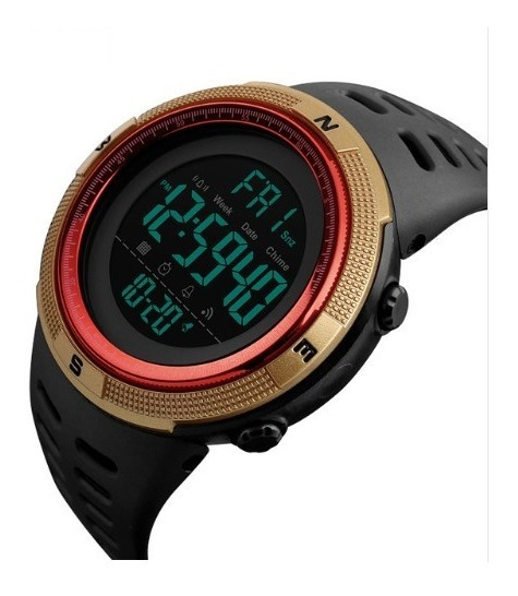 Relógio Esportes / Militar Cronômetro Regressivo Skmei 1251