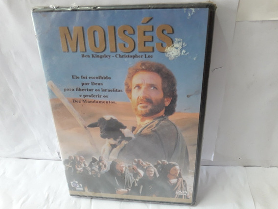 Dvd Filme Moisés Dublado Lacrado