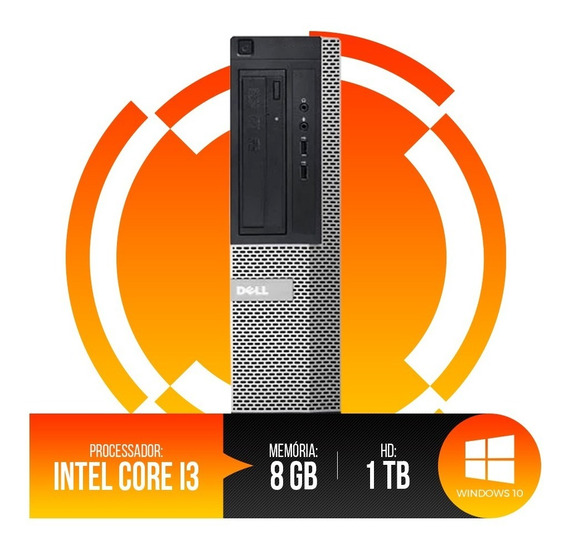 Pc Dell Optiplex Intel Core I3,8gb Ram Ddr3,hd 1tb Oferta